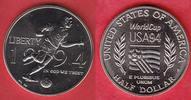 1/2 Dollar 1994 USA World Cup Soccer Stempelglanz Brilliant uncirculate... 7,00 EUR  +  5,00 EUR shipping