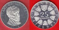 25 Schilling 1964 Oesterreich Franz Grillparzer Polierte Platte, Proof PP  10,00 EUR  +  5,00 EUR shipping