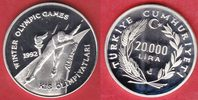 20000 Lira 1990 Türkei Olympic Games 1992 Albertville, Speed skater, ra... 25,00 EUR  +  5,00 EUR shipping