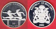 50 Kwacha 2006 Malawi Olympiade 2008 Peking, Hürdenlauf Polierte Platte... 20,00 EUR  +  5,00 EUR shipping