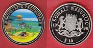 10 Dollars 1998 Somalia Marine - Life Protection, Colour Stempelglanz, ... 8,00 EUR  +  5,00 EUR shipping