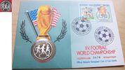 5 Dollar 1991 Cook Islands Fußball WM USA 1994, 3 Spieler, Numisbrief P... 6,00 EUR  +  5,00 EUR shipping