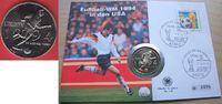 1/2 Dollar 1994 USA World Cup Soccer Stempelglanz Brilliant uncirculate... 8,00 EUR  +  5,00 EUR shipping