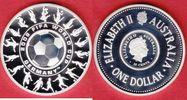 1,25 Dollars 2006 Australien World Soccer Games 2006 Polierte Platte Pr... 27,00 EUR  +  5,00 EUR shipping