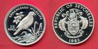 25 Rupien 1993 Seychellen Seychellen-Dajaldrossel - Vogel, Tierwelt, WW... 21,00 EUR  +  5,00 EUR shipping