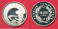 10.000 Lira 1988 Türkei Olympic Games Seoul Polierte Platte Proof PP  13,00 EUR  +  5,00 EUR shipping