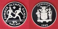 25 Dollar 1988 Jamaika Staffellauf - Olympiade 1988 Seoul Polierte Plat... 14,20 EUR  zzgl. 5,00 EUR Versand