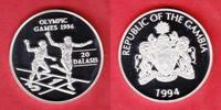 20 Dalasis 1994 Gambia Läufer - Olympiade Atlanta 1996 Polierte Platte ... 22,00 EUR  +  5,00 EUR shipping