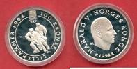 100 Kroner 1992 Norwegen Eishockey - Winterolympiade 1994 Lillehammer P... 25,20 EUR  zzgl. 5,00 EUR Versand