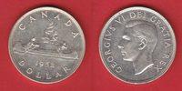 1 Dollar 1952 Kanada Georg VI., Kanu bankfrisch, unc.  25,00 EUR  +  5,00 EUR shipping
