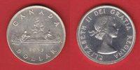 1 Dollar 1953 Kanada Elisabeth, Kanu bankfrisch, unc.  21,00 EUR  +  5,00 EUR shipping