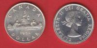 1 Dollar 1954 Kanada Elisabeth, Kanu bankfrisch, unc.  30,00 EUR  +  5,00 EUR shipping