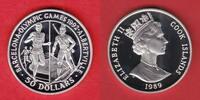 10 Dollars 1989 Cook Islands Olympiade 1992 Barcelona, Biathlon-Maratho... 17,20 EUR  +  5,00 EUR shipping