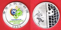 10 Yuan 2005 China World Soccer Games 2006 Polierte Platte Proof PP  35,20 EUR  +  5,00 EUR shipping
