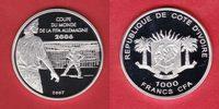 1000 CFA 2007 Elfenbeinküste World Soccer Games 2006 Polierte Platte Pr... 24,20 EUR  +  5,00 EUR shipping