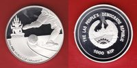 Laos 1.000 Kip 2006 Polierte Platte Proof PP World Soccer Games 2006 30,00 EUR incl. VAT., +  5,00 EUR shipping
