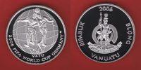 50 Vatu 2006 Vanuatu World Soccer Games 2006 Polierte Platte Proof PP  25,20 EUR  +  5,00 EUR shipping