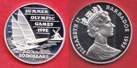 10 Dollar 1992 Barbados Olympiade 1992 Barcelona, Segeln Polierte Platt... 22,00 EUR  +  5,00 EUR shipping
