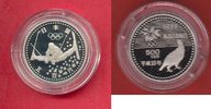 500 Yen 1997 Japan Trickski - Olympiade 1998 Nagano Polierte Platte Pro... 20,00 EUR  +  5,00 EUR shipping