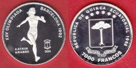 7000 Francos 1992 Aequatorialguinea Olympiade 1992 Barcelona, Katrin Kr... 19,20 EUR  +  5,00 EUR shipping