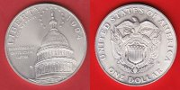 USA 1 Dollar 1994 Stempelglanz Brilliant uncirculated BU Capitol Bicente... 23,00 EUR incl. VAT., +  5,00 EUR shipping