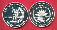1 Taka 1992 Bangladesh Olympiade 1992 Barcelona, Fackellauf Polierte Pl... 25,00 EUR  +  5,00 EUR shipping
