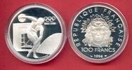 100 Francs 1994 Frankreich Diskuswerfer 100 Jahre Olympische Spiele der... 23,20 EUR  zzgl. 5,00 EUR Versand