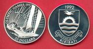 20 Dollars 1992 Kiribati Olympiade 1992 Barcelona, Segler Polierte Plat... 17,20 EUR  +  5,00 EUR shipping