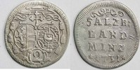 Halber Landbatzen 1731 ERZBISTUM SALZBURG Leopold Anton Eleutherius Fre... 30,00 EUR  +  5,00 EUR shipping