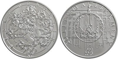 200 kronen korun 2013 tschechien republic cesk 225 republika 20 years national bank