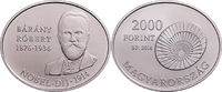 2000 Forint 2014 Ungarn - Hungary - Magyarorszag Róbert Bárány  Nobel p... 12,00 EUR  +  10,00 EUR shipping