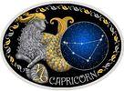 10 Denari 2014 Mazedonien - Macedonia Zodiac - Capricorn PP teilvergoldet  69,00 EUR  +  10,00 EUR shipping