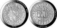 5 Euro 2015 Lettland - Latvija - Latvia 500 Years Livonian Ferding mint... 39,00 EUR  +  10,00 EUR shipping