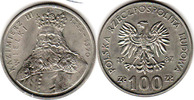 100 Zloty 1986 Polen - Polska - Poland Kasimir III. the Great Stemplelg... 4,00 EUR