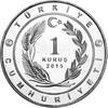 """16 x 1 Kurus 2015 Türkei - Turkey 16 coins 1 Kurus """"Historical sta... 32,00 EUR"""