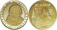 50 Bani 2016 Rumänien - Romania John Hunyadi - Woidwode from Transsylva... 3,00 EUR  +  10,00 EUR shipping