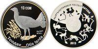 10 Som 2015 Kirgisien - Kyrgistan - Kyrgisia Grosstrappe - Otis tarda P... 69,00 EUR  +  10,00 EUR shipping