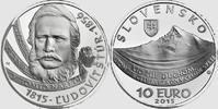 10 Euro 2015 Slowakei - Slovakia - Slovensko 200th birthday Ludovit Stu... 31,00 EUR  excl. 10,00 EUR verzending