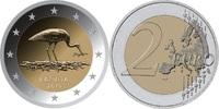 2 EUR 2015 Lettland - Latvija - Latvia Stork unzirkuliert  3,00 EUR  +  10,00 EUR shipping