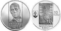 10 Euro 2016 Slowakei - Slovakia - Slovensko 150 th birthday of Ladisla... 34,00 EUR  +  10,00 EUR shipping