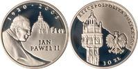 10 Zloty 2005 Polen Polska Poland Pope John Paul II - 1920 - 2005 PP Pr... 12,00 EUR