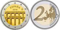 2 EUR 2016 Spanien- Espana - Spain Aquädukt in Segovia unzirkuliert  3,50 EUR  +  10,00 EUR shipping