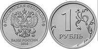 1 Rubel 2016 Rußland -Russia - Rossija circulation coin new with Tsaris... 0,80 EUR  excl. 10,00 EUR verzending