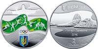 2 Hriwny 2 Griwna 2016 Ukraine XXXI. Olympic Summer Games in Rio de Jan... 13,00 EUR  +  10,00 EUR shipping