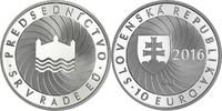10 Euro 2016 Slowakei - Slovakia - Slovensko EU Presidency 2nd half yea... 24,00 EUR  +  10,00 EUR shipping