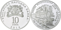 10 Lewa 2016 Bulgarien - Bulgaria 150 years Railway in Bulgaria Poliert... 49,00 EUR  +  10,00 EUR shipping