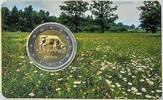 2 EUR COIN CARD 2016 Lettland - Latvija - Latvia Cow uncirculated- Stgl.  12,00 EUR  +  10,00 EUR shipping
