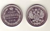 10 Kopeken 1915 Russland - Russia Currency Coin sehr schön  3,00 EUR