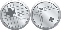 30 Euro 2016 Slowenien - Slovenija - Slovenia 150th anniversary of the ... 59,00 EUR  +  10,00 EUR shipping