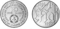 Deutsche Demokratische Republik 10 Mark 1989 unzirkuliert 100 years Firs... 5,00 EUR